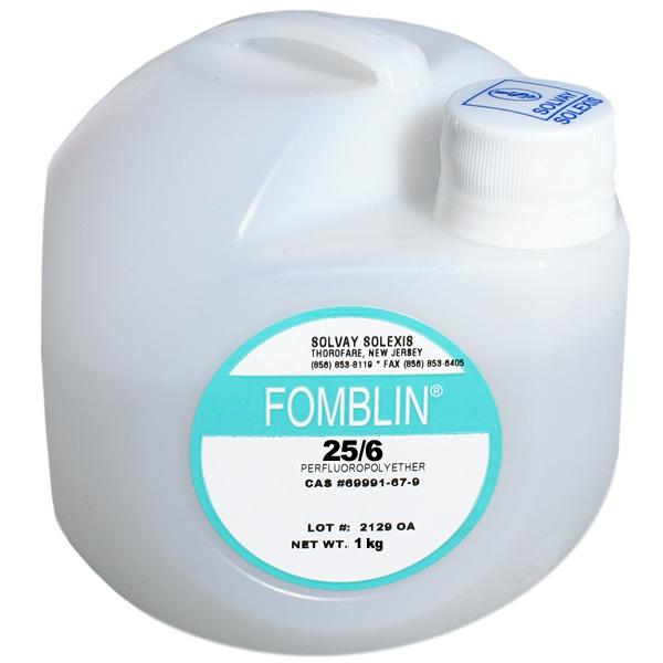 Вакуумные жидкости, масла, присадки и смазки Fomblin